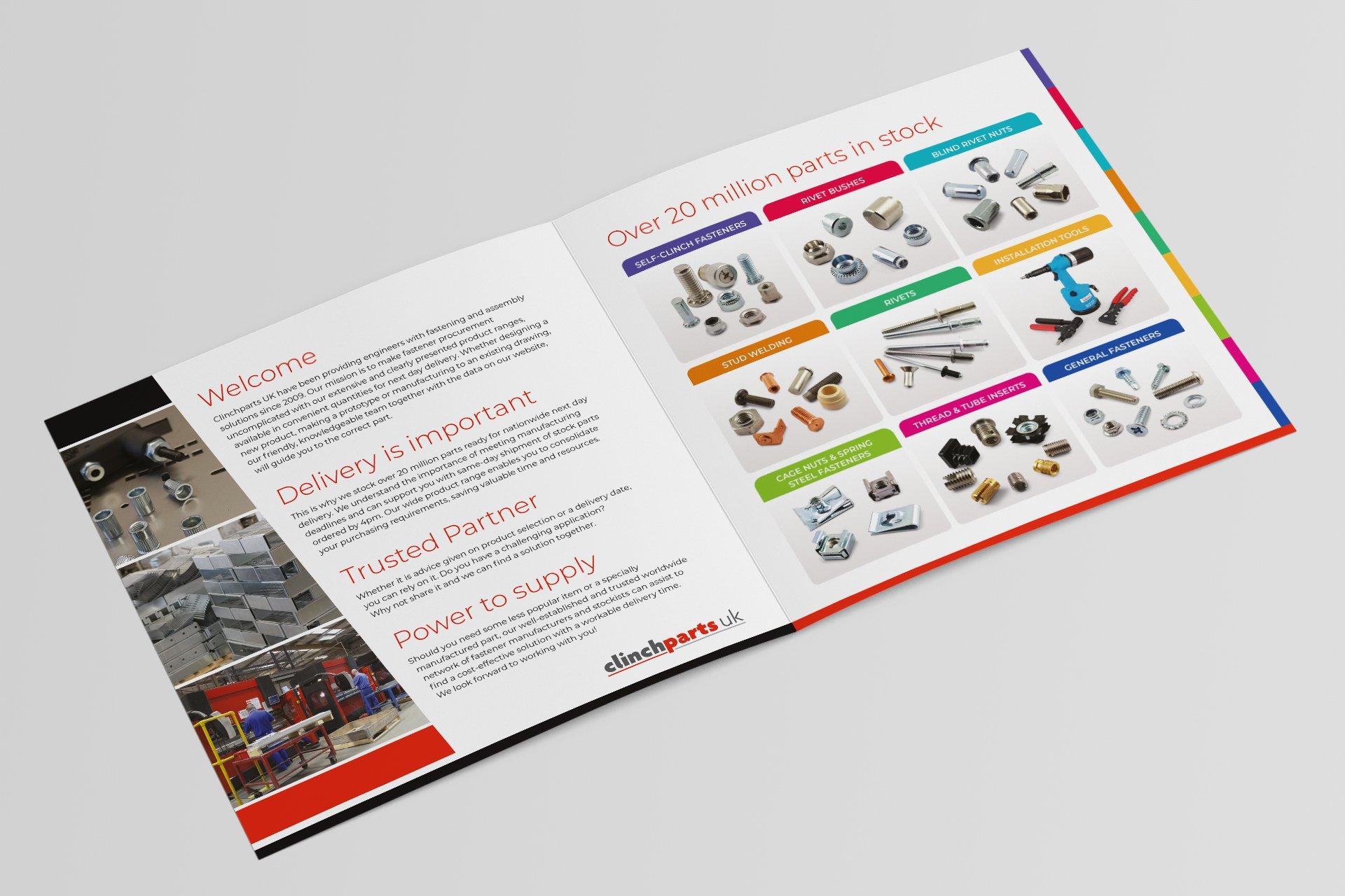Product Brochure Design Nottingham Graphic Design