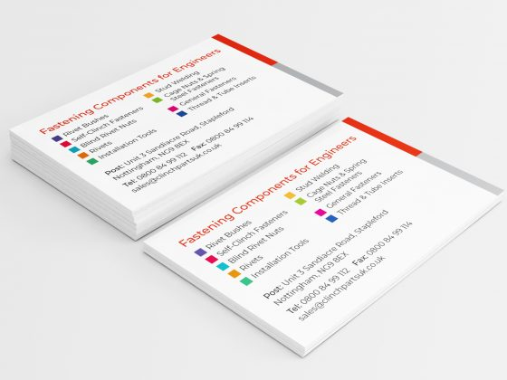 Nottingham Graphic Design Business Card Design