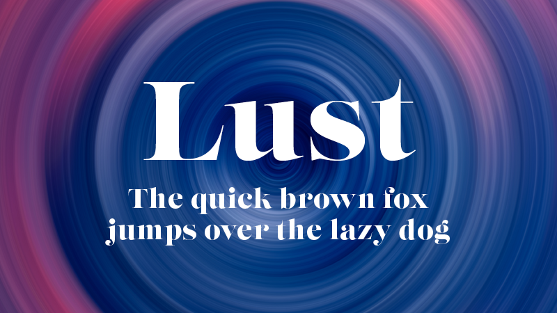 lust adobe cc font HelloGriff | Graphic Design