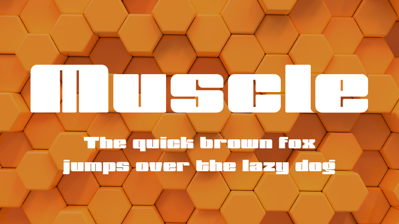 muscle adobe cc font HelloGriff | Graphic Design