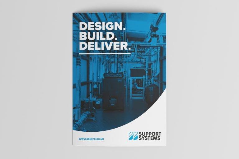 ssn folded brochure design nottingham 1 1 Freelance Graphic Designer Nottingham Derby Leicester