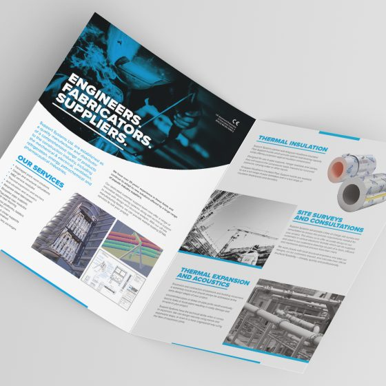 ssn folded brochure design nottingham 3 HelloGriff | Graphic Design