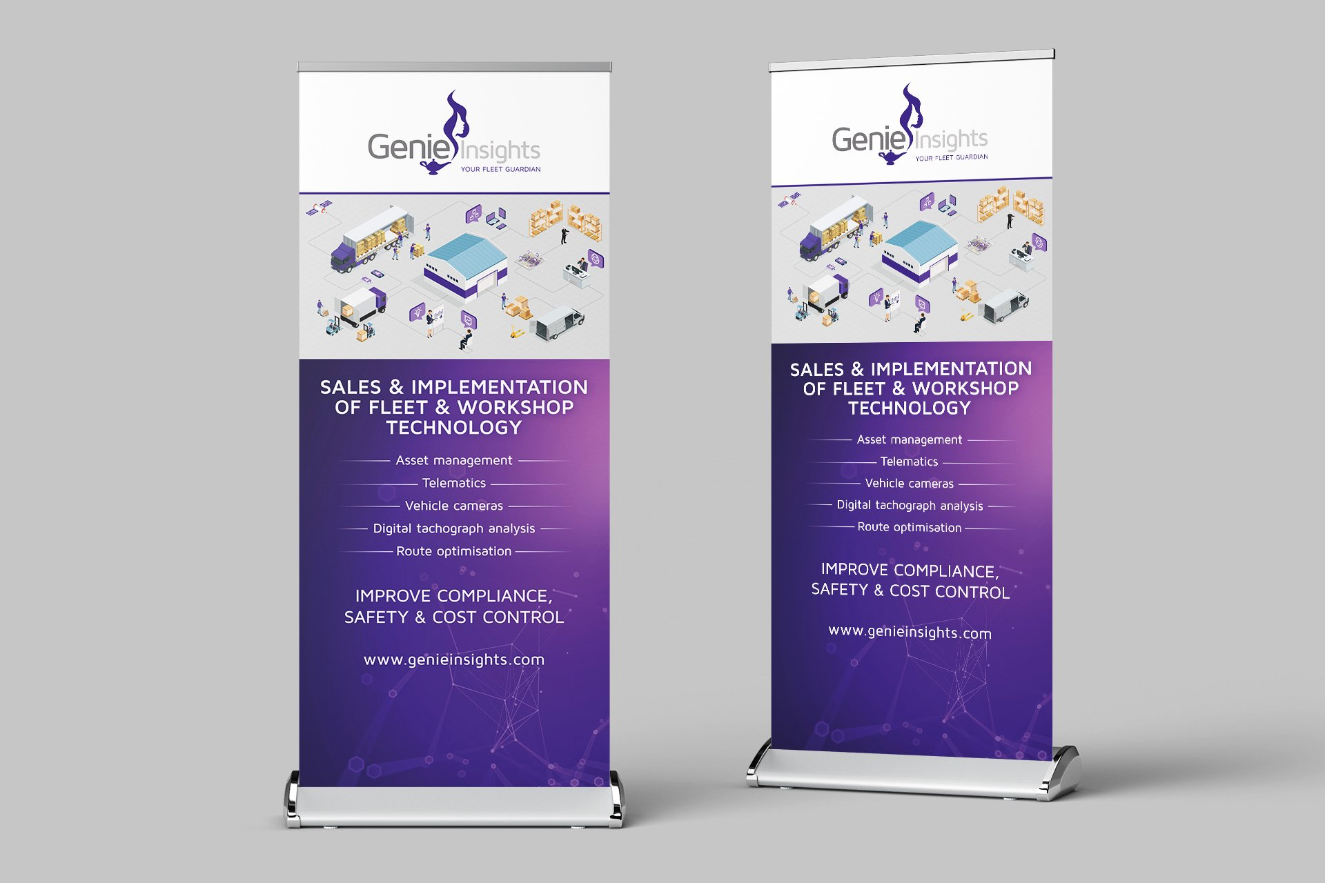 graphic designer in nottingham genie 4 HelloGriff | Graphic Design