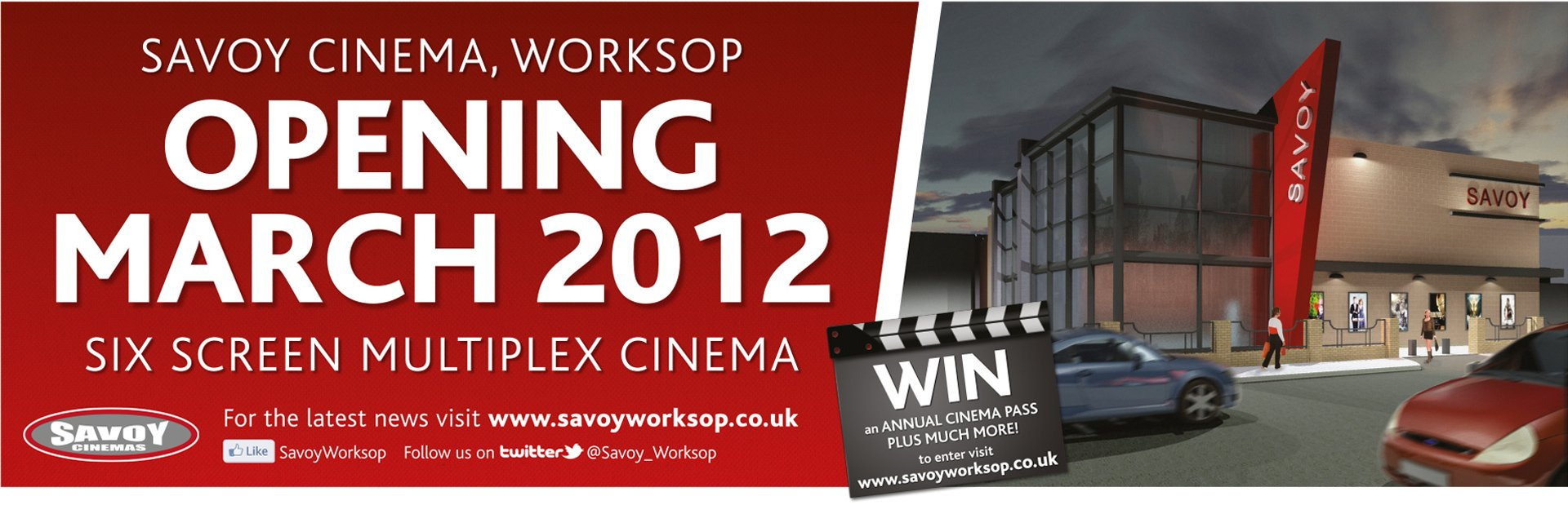 savoy outdoor banner design 1 1 Freelance Graphic Designer Nottingham Derby Leicester